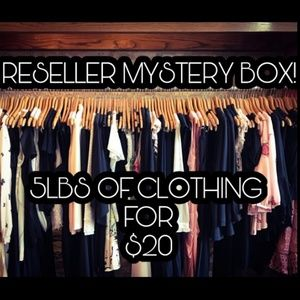 Reseller Mystery Box - 5lbs for $20